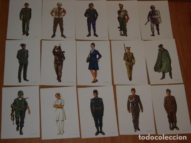 Postales: POSTAL MILITAR,LOTE DE 31 POSTALES MILITARES DE COLECCION,SALAS. - Foto 5 - 107327979