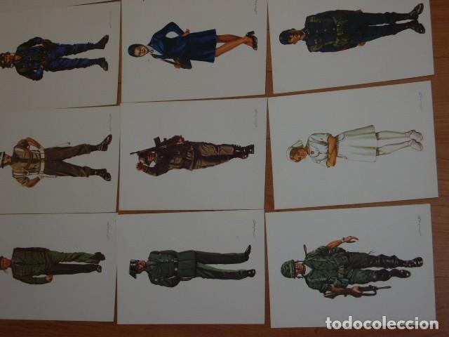 Postales: POSTAL MILITAR,LOTE DE 31 POSTALES MILITARES DE COLECCION,SALAS. - Foto 7 - 107327979