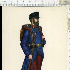 Postales: POSTAL MILITAR REGIMIENTO DEL REY Nº 1 AÑO 1890 CARLO EDICIONES EDUFRANC. Lote 108730839