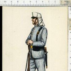 Postales: POSTAL MILITAR REGIMIENTO DEL REY Nº 1 AÑO 1910 CARLO EDICIONES EDUFRANC. Lote 108730951