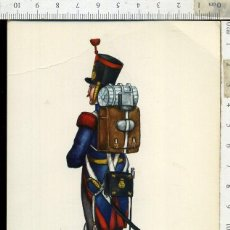 Postales: POSTAL MILITAR REGIMIENTO DEL REY Nº 1 AÑO 1830 CARLO EDICIONES EDUFRANC. Lote 108731155