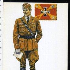 Postales: POSTAL TENIENTE LEGION CONDOR AVIACION NACIONAL JUAN ABELLAN EDICIONES BARREIRA. Lote 108732091