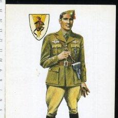 Postales: POSTAL COMANDANTE ITALIANO GUERRA CIVIL AVIACION NACIONAL JUAN ABELLAN EDICIONES BARREIRA. Lote 108732347