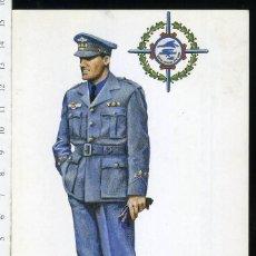 Postales: POSTAL CAPITAN UNIFORME DE PASEO CIVIL AVIACION NACIONAL JUAN ABELLAN EDICIONES BARREIRA. Lote 108732447
