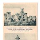 Postales: REGIMIENTO DE INFANTERÍA DE BADAJOZ Nº10. CUARTEL DEL BRUH.PEDRALBES .HUECOGRABADO MUMBRU. BARCELONA. Lote 108755567