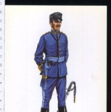 Postales: TARJETA FORMATO POSTAL CAPITAN DEL CUERPO DE E.M CAMPAÑA 1893 DE GREGORT . Lote 108810015