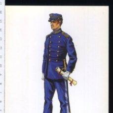 Postales: TARJETA FORMATO POSTAL ALUMNO DE LA ESCUELA DE APLICACION S.M 1862 DE GREGORT . Lote 108810603