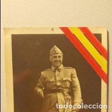 Postales: TARJETAS POSTALES GENERALISIMO FRANCISCO FRANCO. Lote 109053287