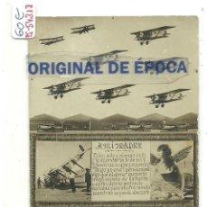 Postales: (PS-54318)POSTAL FOTOGRAFICA AERODROMO MILITAR CUATROVIENTOS. Lote 109194179