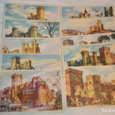 Postales: SERIE 5502 LAIETANA - CASTILLOS DE ESPAÑA - COMPLETA 10 POSTALES - ¡MIRA, HAZ OFERTA!. Lote 109291651