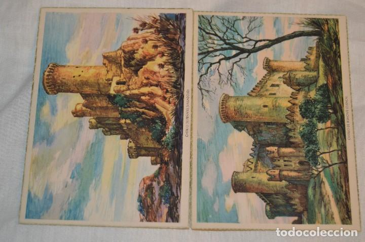 Postales: Serie 5502 LAIETANA - CASTILLOS DE ESPAÑA - COMPLETA 10 Postales - ¡Mira, haz oferta! - Foto 2 - 109291651