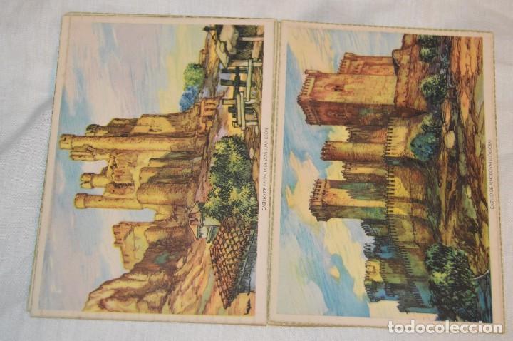 Postales: Serie 5502 LAIETANA - CASTILLOS DE ESPAÑA - COMPLETA 10 Postales - ¡Mira, haz oferta! - Foto 3 - 109291651