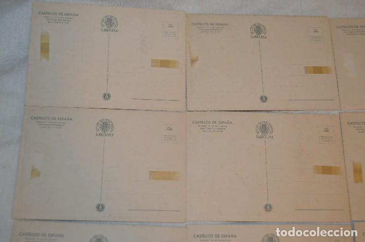 Postales: Serie 5502 LAIETANA - CASTILLOS DE ESPAÑA - COMPLETA 10 Postales - ¡Mira, haz oferta! - Foto 8 - 109291651