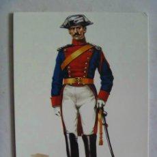 Postales: POSTAL GUARDIA CIVIL DE 1ª DE CABALLERIA, GALA A CABALLO, 1915 . DE DELFIN SALAS.. Lote 110097991
