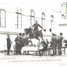 Postales: MILITARES FRANCESES. SAUMUR. MAINE Y LOIRA. 1913. Lote 110113911