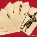 Postales: LOTE COLECCION 11 POSTALES UNIFORMES MILITARES GUARDIA VATICANO , ORIGINALES , B3. Lote 110646859