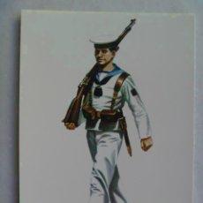 Postales: GUERRA CIVIL : POSTAL MARINERO UNIFORME PARADA DE VERANO, 1938 .. DE DELFIN SALAS. Lote 111889199