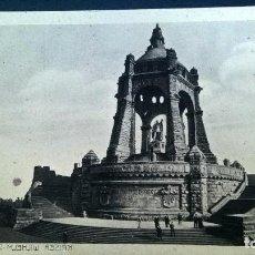 Postales: POSTAL MONUMENTO KAISER WILHELM-1913. Lote 112102927