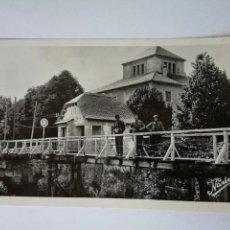 Postales: POSTAL FOTOGRAFICA MILITARES FRONTERA FRANCIA - ESPAÑA BOURG MADAME LE PONT INTERNATIONAL. Lote 112575487