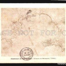 Postales: RARA TARJETA POSTAL MUSEO NAVAL DE MADRID EXPOSICION CARTOGRAFICA URUGUAY 1933 MAPAS COLONIALES. Lote 113815955