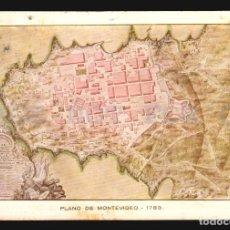 Postales: RARA TARJETA POSTAL MUSEO NAVAL DE MADRID EXPOSICION CARTOGRAFICA URUGUAY 1933 MAPAS COLONIALES II. Lote 113816019