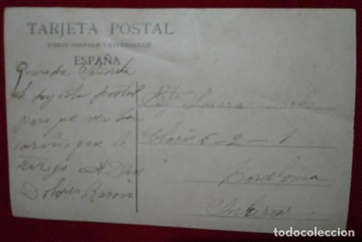 Postales: Postal. Monarquía. Reyes de España y Príncipe de Asturias. Coloreada. Resines. Circulada - Foto 3 - 114422627