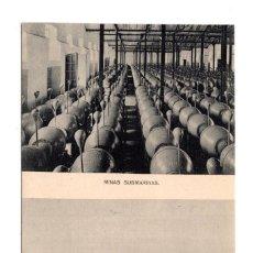 Postales: CADIZ. LA CARRACA. S.E. DE C.N. HAUSER Y MENET. MINAS SUBMARINAS. TUBOS COBLES DE LANZAR TORPEDOS. Lote 115141235