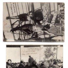 Postales: 3 POSTALES FOTOGRÁFICAS FUSILAMIENTO DE BENITO MUSSOLINI - COLGADO BOCA ABAJO JUNTO A CLARA PETACCI.. Lote 115141731