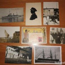 Postales: POSTALES Y FOTOGRAFÍAS,, ARMADA ESPAÑOLA. Lote 115531243