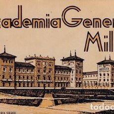 Postales: POSTALES DE LA ACADEMIA GENERAL MILITAR, COMPLETOS, 1ª Y 2ª SERIE. ED: ARRIBAS. Lote 116802511