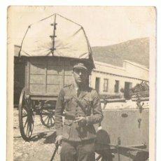 Postales: POSTAL MILITAR SOLDADO FUMANDO . Lote 117615587