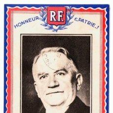 Postales: POSTAL M. GASTON DOUMERGUE. Lote 117616439