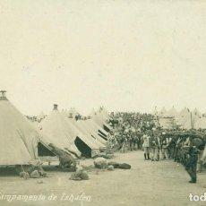 Postales: GUERRA DE MARRUECOS. MELILLA CAMPAMENTO DE ISHAFEN. 1912. POSTAL EXPRES.. Lote 118060107