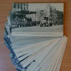 Postales: 16 POSTALES, SEGOVIA, MADRID , REGIMIENTO DE ARTILLERÍA PESADA 1913-1916. Lote 118339691