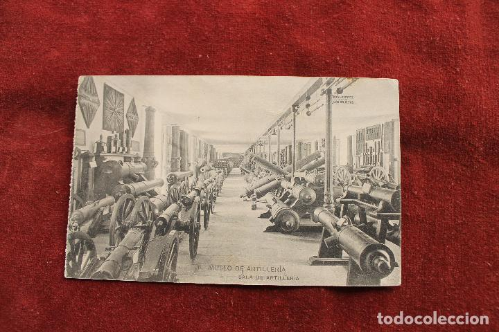 POSTAL MUSEO DE ARTILLERIA MADRID, SALA DE ARTILLERIA, HAUSER Y MENET (Postales - Postales Temáticas - Militares)