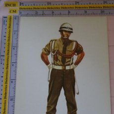 Postales: POSTAL MILITAR EJÉRCITO ESPAÑOL ILUSTRADOR SALAS. AÑO 1976. UNIFORME POLICÍA EJÉRCITO 1717. Lote 120573035