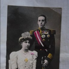 Postales: LOS REYES , ALFONSO XII , Y D ª VICTORIA .. Lote 121903967
