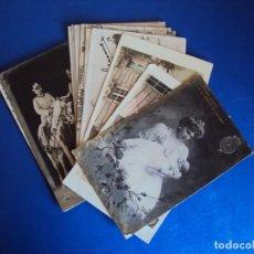 Postales: (PS-56330)LOTE DE 11 POSTALES DE ALFONSO XIII Y VICTORIA EUGENIA. Lote 122758943
