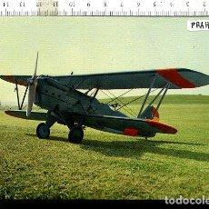 Postales: TAMAÑO POSTAL MILITAR AVION AERO 101 , MUSEO DEL AIRE CUATRO VIENTOS MADRID. Lote 122922991