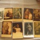 Postales: ANTIGUAS POSTALES FRANCO,GRAL MOLA ETC 9 UNID. Lote 123033267