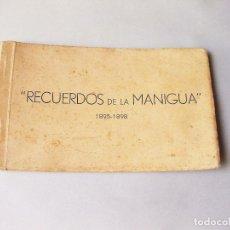 Postales: TACO ORIGINAL DE 10 POSTALES DE RECUERDOS DE LA MANIGUA 1895-1898.GUERRA DE CUBA. Lote 128559771