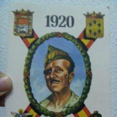 Postales: LA LEGION : POSTAL ANIVERSARIO DE SU FUNDACION : 1920 - 1976 ; MILLAN-ASTRAY Y EMBLEMAS. Lote 128601295