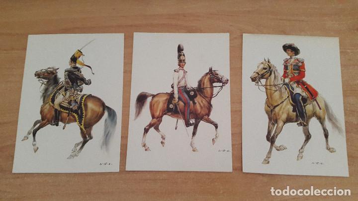 Postales: lote 14 postales militares - uniformes militares de ejércitos - ver fotos, se muestran todas - Foto 5 - 128711067