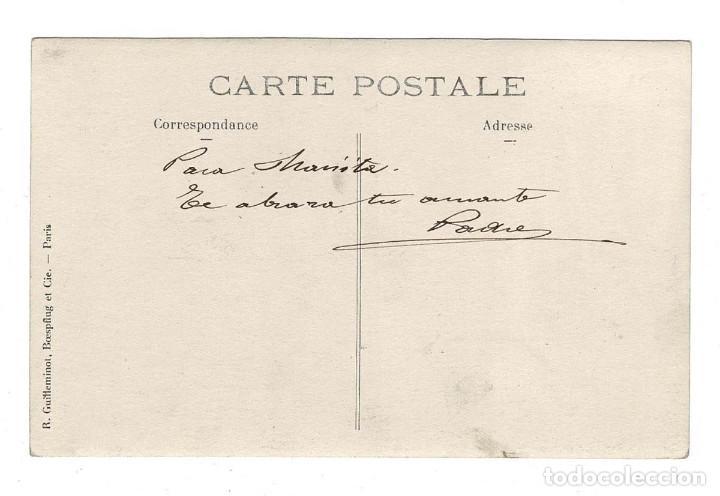 Postales: CAMPAÑA DEL RIF 1909 - EN LOS CERROS DE BENI SICA OBSEVANDO EL FUEGO DE LAS AVANZADAS - Foto 3 - 131994194