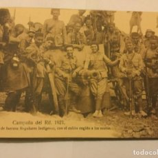 Postales: RECUERDO LA CAMPAÑA DE EL RIF NADOR AÑO 1921 ALBUM 12 POSTALES SERIE I COMPLETO ED POSTAL MELILLA. Lote 133419502