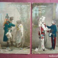 Postales: POSTALES MILITARES-PATRIOTICAS-ROMANTICAS.ED. MP MADRID,HACIA 1920.. Lote 133660314