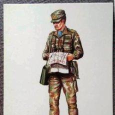Postales: POSTAL UNIFORMES MILITARES. COMANDANTE DE E.M. UNIFORME DE CAMPAÑA 1998. Lote 135804774