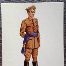 Postales: POSTAL UNIFORMES MILITARES. CORONEL DEL SERVICIO DE E.M. DIARIO 1943. Lote 135805590