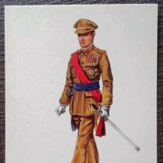 Postales: POSTAL UNIFORMES MILITARES. COMANDANTE DEL S.E.M. GALA 1965. Lote 135806670