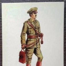 Postales: POSTAL UNIFORMES MILITARES. CAPITÁN DEL CUERPO DE E.M. CAMPAÑA 1922. Lote 135807006